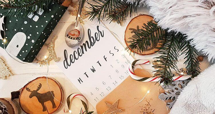 Holiday E-Commerce Strategy - Organize your holiday calendar